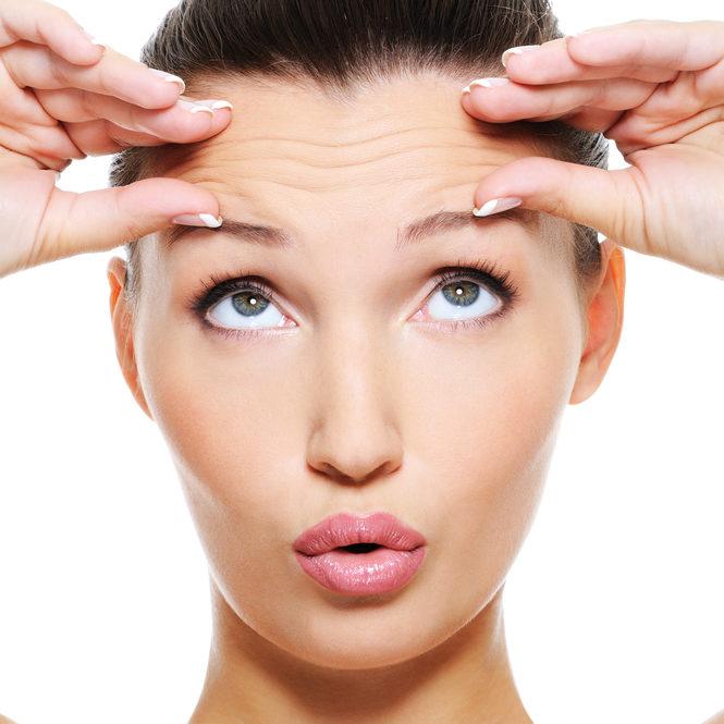 botox en filler behandlelingen rondom het voorhoofd